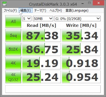 SnapCrab_CrystalDiskMark 303 x64_2014-10-10_16-57-33_No-00