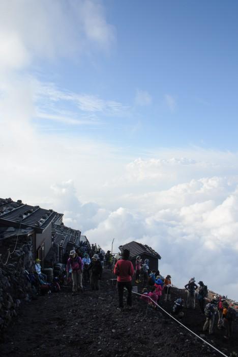 8号目~本8合目 - 富士山