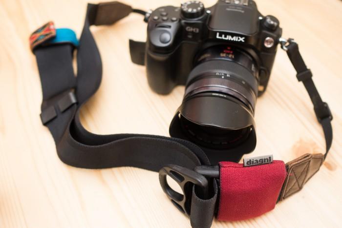 diagnlの伸縮自在な「Ninja Camera Strap(ニンジャカメラストラップ)」レビュー!2年使ってみたけどやっぱり便利