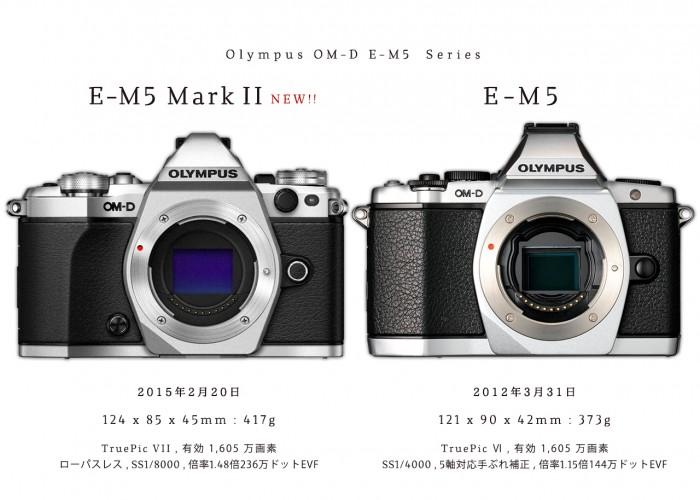 olympus_E-M5_Mark2_vs_E-M5_1