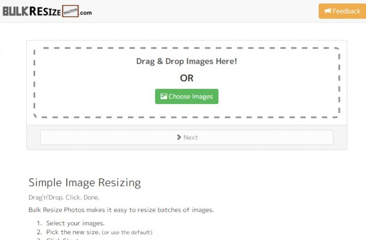 写真をかんたん一括リサイズ!ブラウザにドラッグするだけで画像をまとめて縮小できる「Bulk Resize Photos」がちょー便利!