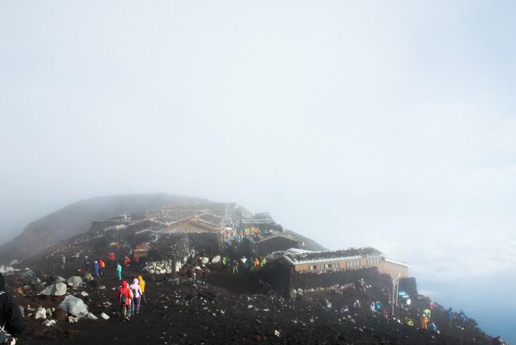 山頂 - 富士山