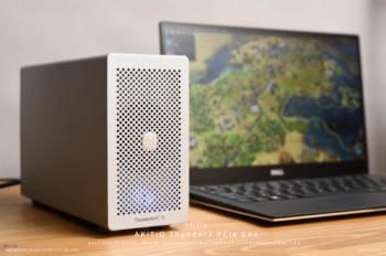 ノートパソコンでもLightroomの現像を高速に!DELL XPS 13 9350に「AKiTiO Thunder3 PCIe Box」で外付けグラフィックボード(eGPU)を試してみた。