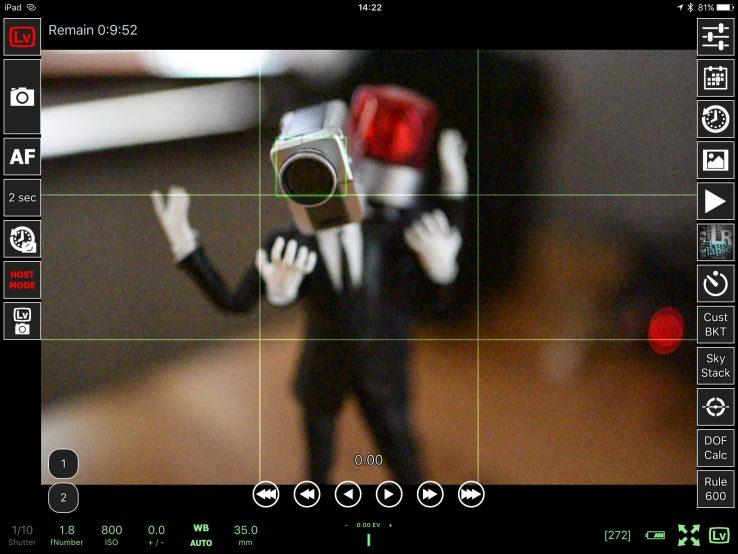 一眼レフカメラをiPadでリモート撮影!スマホ/タブレットからWi