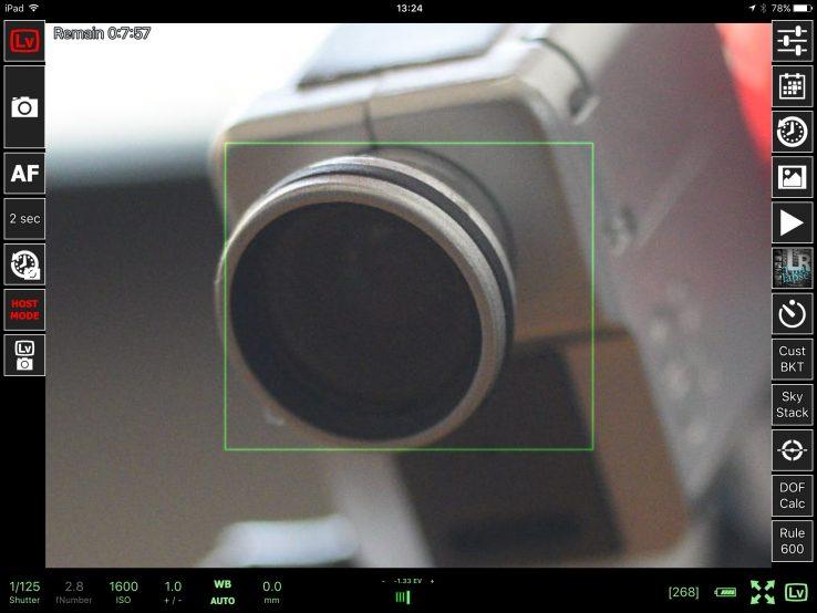 一眼レフカメラをiPadでリモート撮影!スマホ/タブレットからWi-Fiで